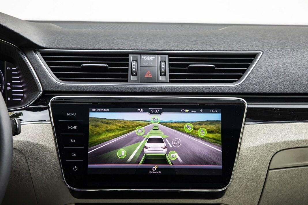 Skoda Superb iV - systemy wspomagające kierowcę