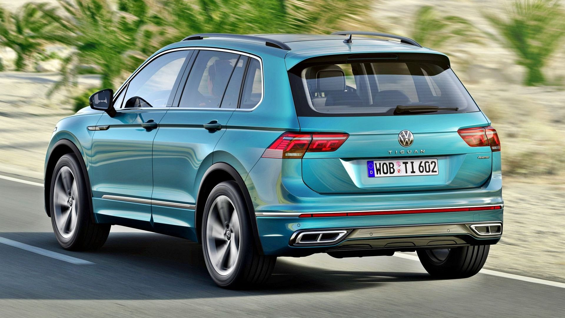 Volkswagen Tiguan po liftingu (2020). Opis wersji i cennik ...