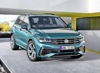 Volkswagen Tiguan po liftingu – oficjalne zdjęcia i informacje