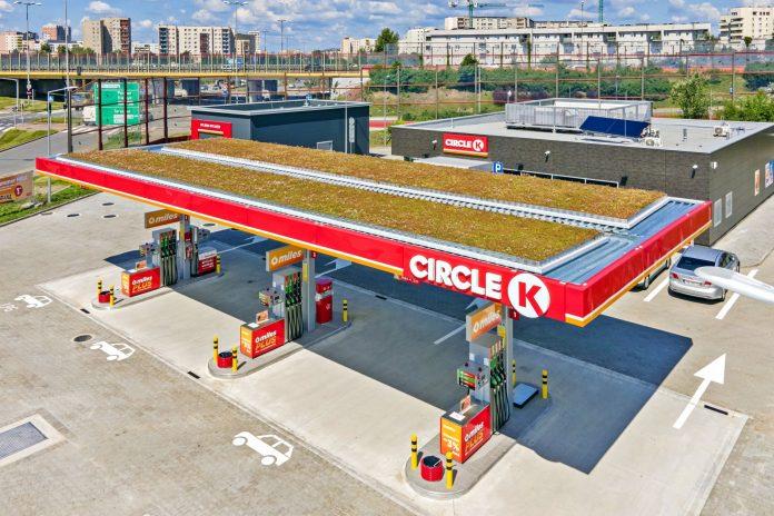 Circle K - zielona stacja