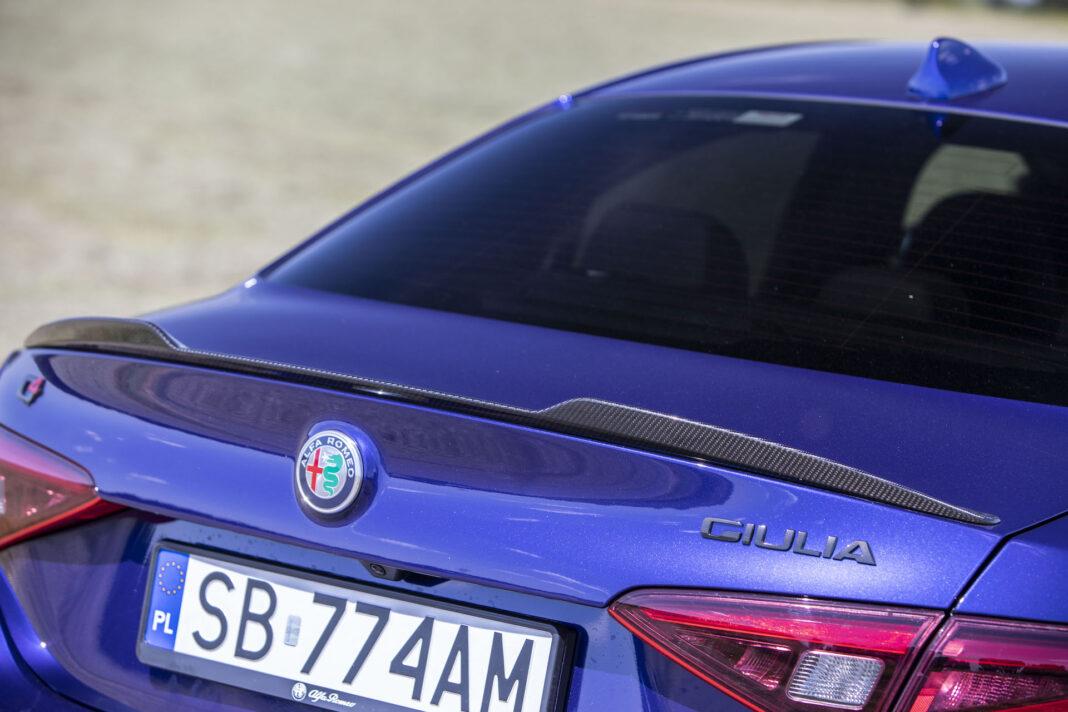 2020 Alfa Romeo Giulia 2.0 GME TB 280 Q4 Veloce – listwa Gurneya