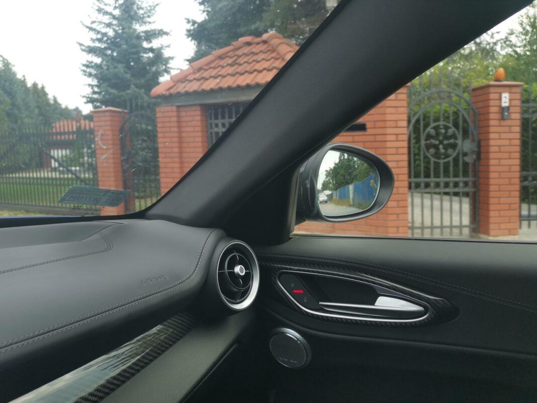 2020 Alfa Romeo Giulia 2.0 GME TB 280 Q4 Veloce – lusterko
