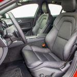 Volvo S60 T4 test – siedzenia