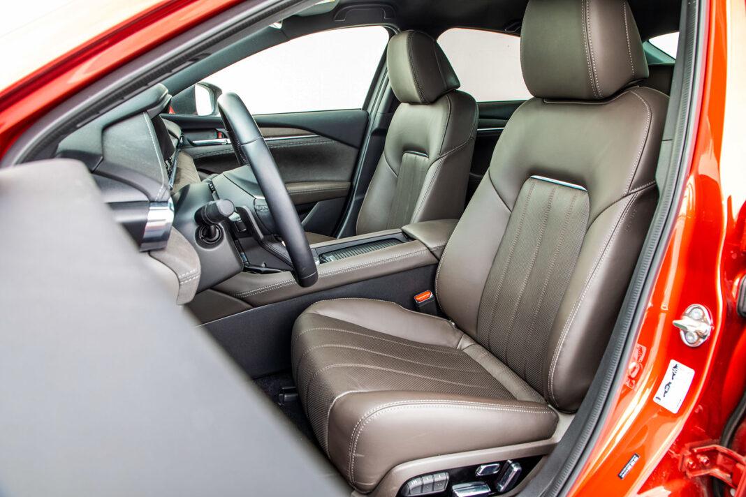 Mazda 6 2.5 Skyactiv-G test – siedzenia