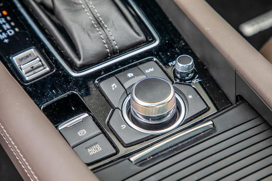 Mazda 6 2.5 Skyactiv-G test – sterowanie
