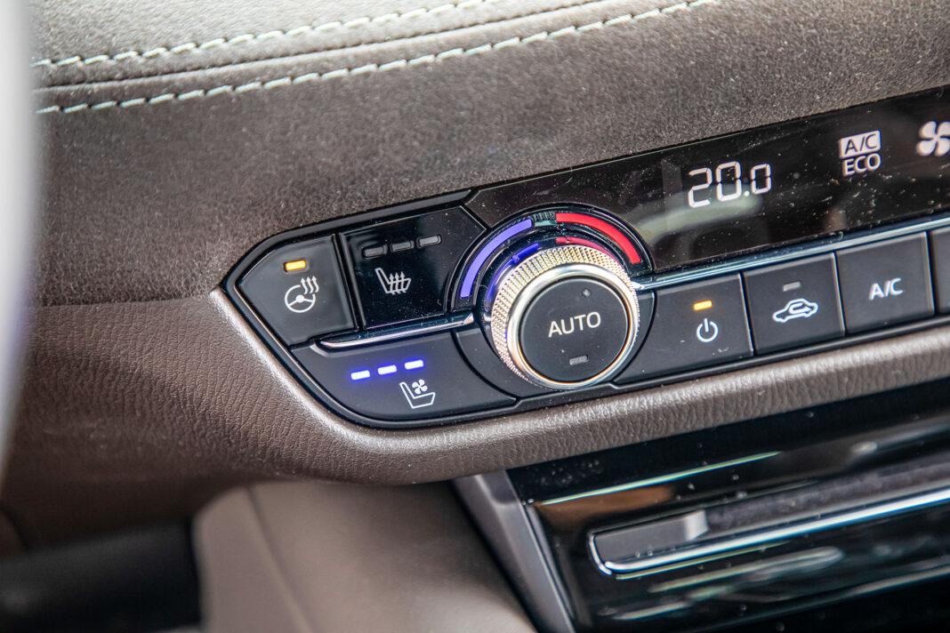 Mazda 6 2.5 Skyactiv-G test – wentylacja foteli