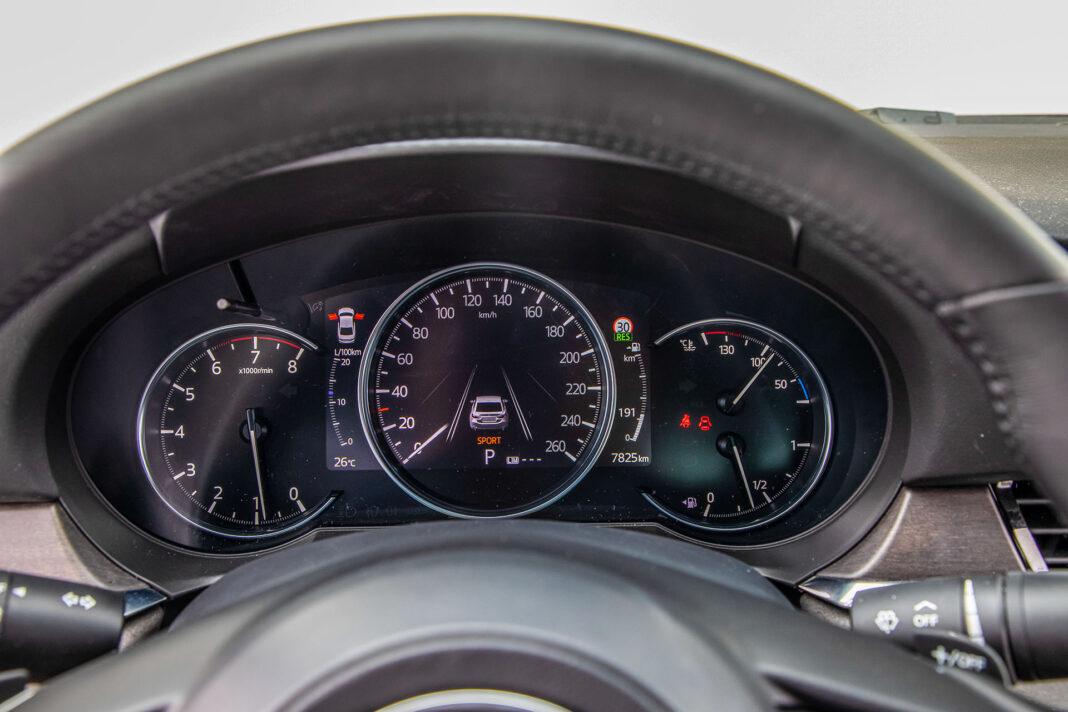Mazda 6 2.5 Skyactiv-G test – wskaźniki