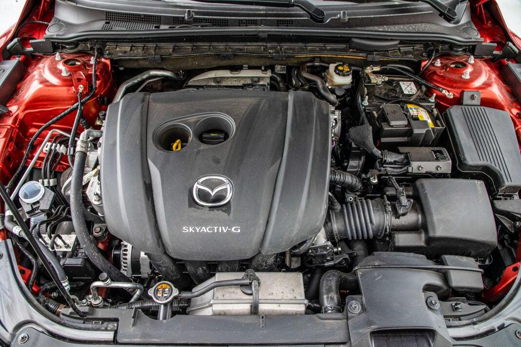 Mazda 6 2.5 Skyactiv-G test – silnik