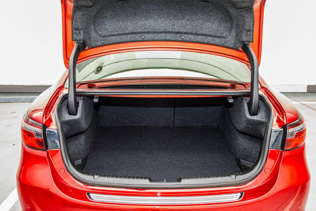 Mazda 6 2.5 Skyactiv-G test – bagażnik