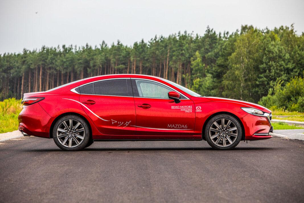 Mazda 6 2.5 Skyactiv-G test – bok