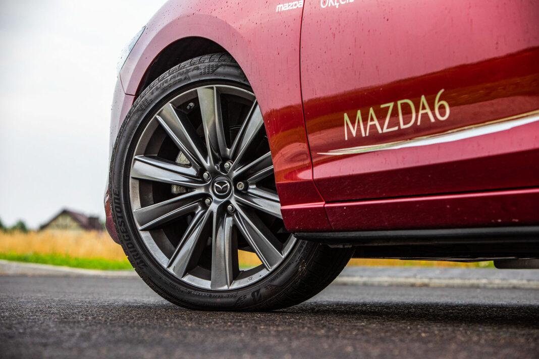Mazda 6 2.5 Skyactiv-G test – koło