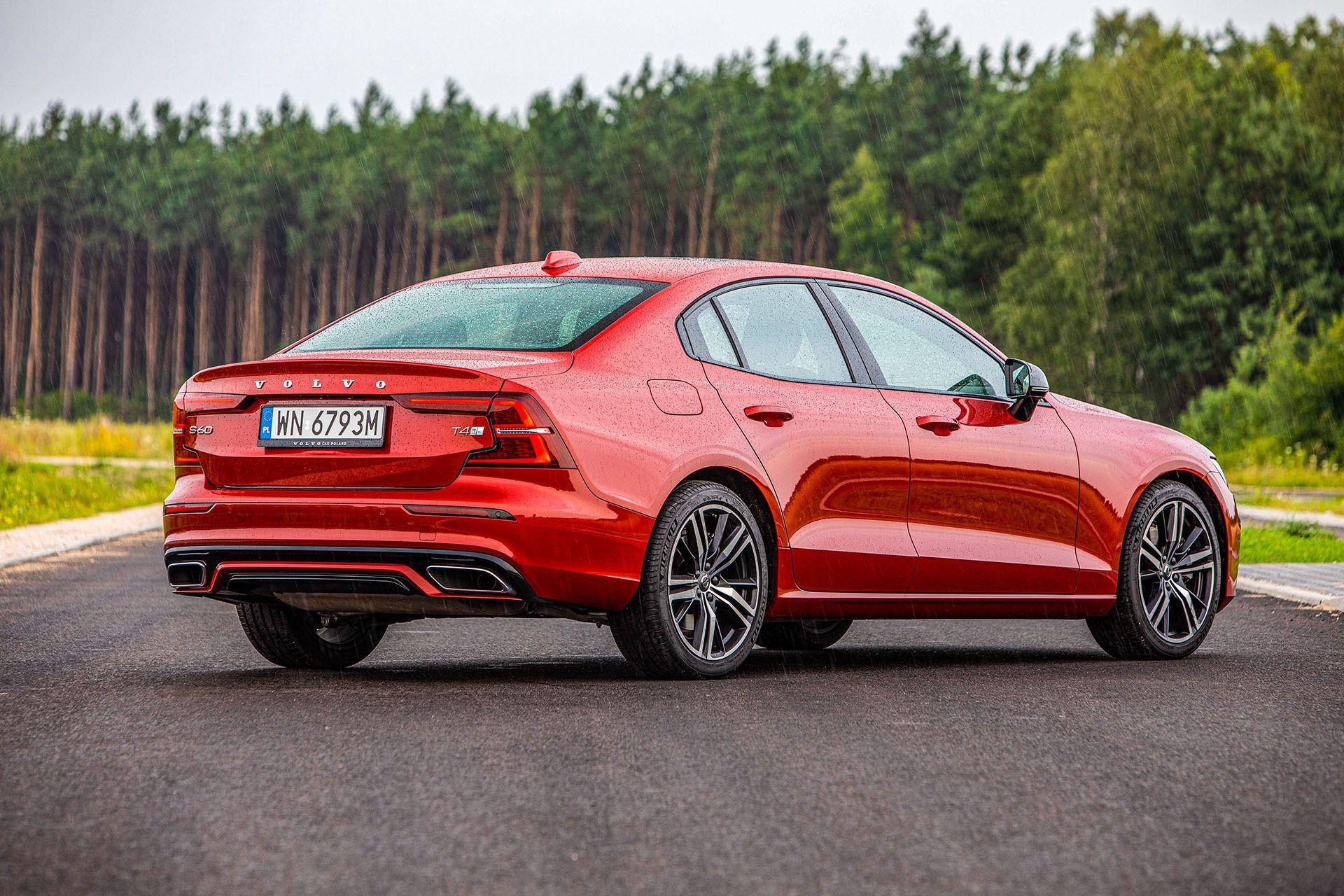 Volvo S60 T4 test – tył