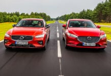 Mazda 6, Volvo S60 – porównanie