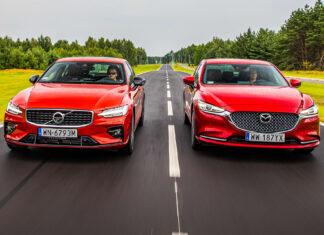 Mazda 6 2.5 Skyactiv-G kontra Volvo S60 T4  – PORÓWNANIE