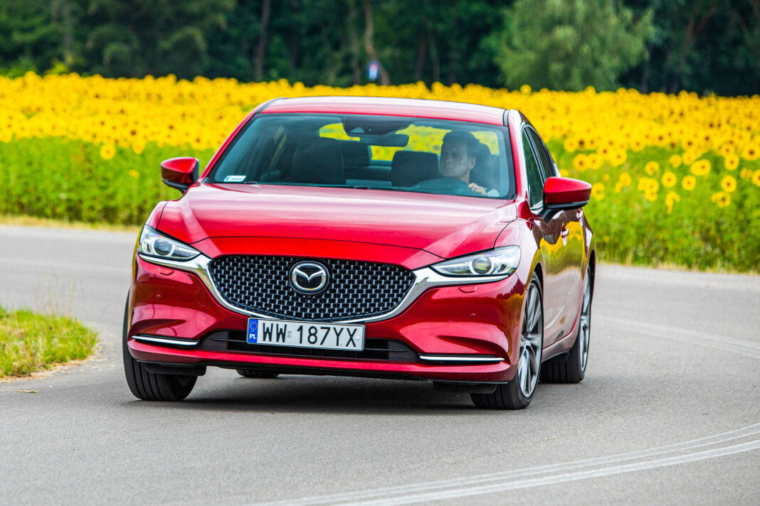 Mazda 6 2.5 Skyactiv-G test – przód
