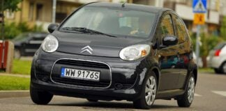 CITROEN C1 I FL 1.0 68KM 5MT WW9176S 06-2009