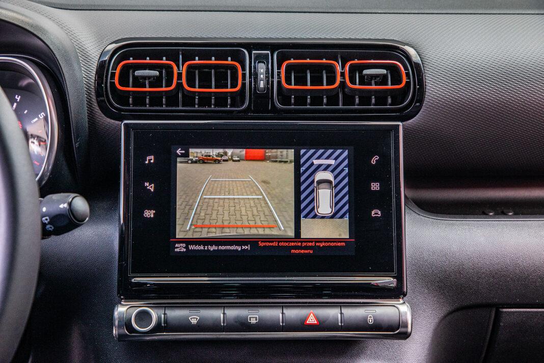 Citroen C3 Aircross - kamera cofania