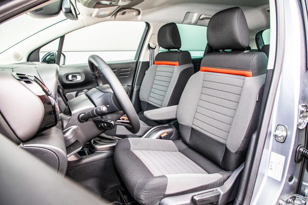 Citroen C3 Aircross - fotele