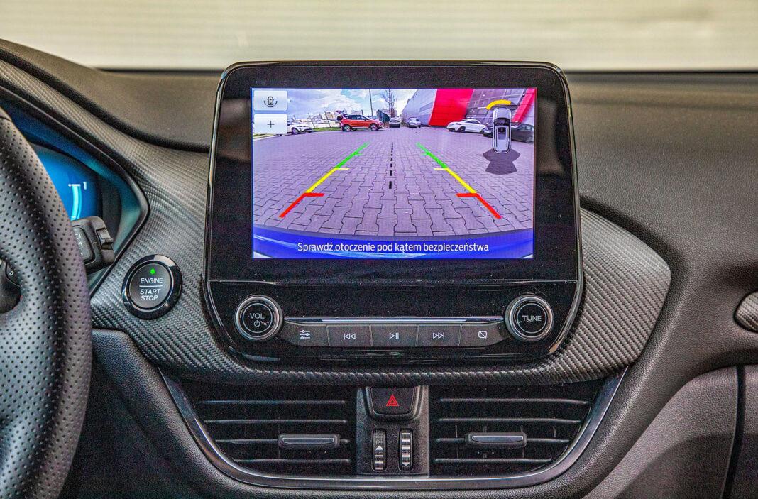 Ford Puma - ekran