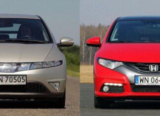 Używana Honda Civic VIII i Honda Civic IX - którą generację wybrać?