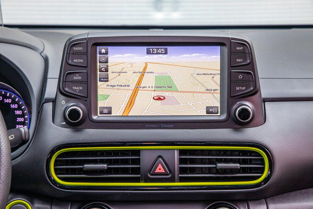 Hyundai Kona - ekran
