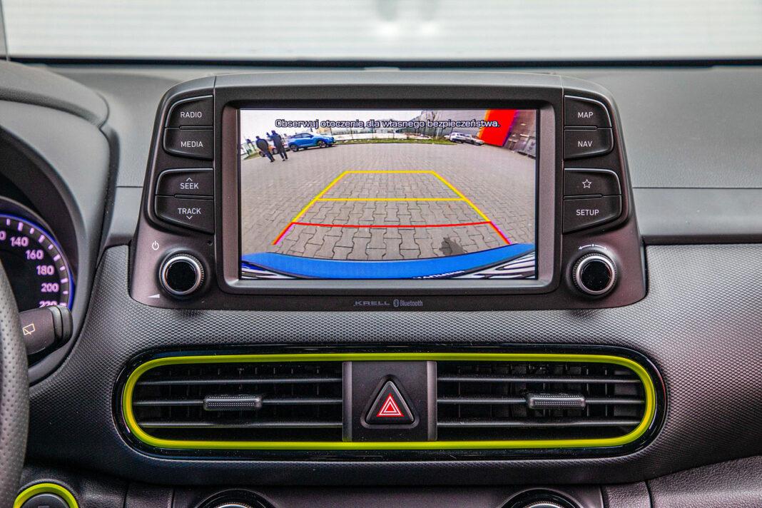Hyundai Kona - kamera cofania