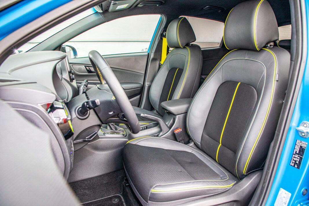 Hyundai Kona - fotele