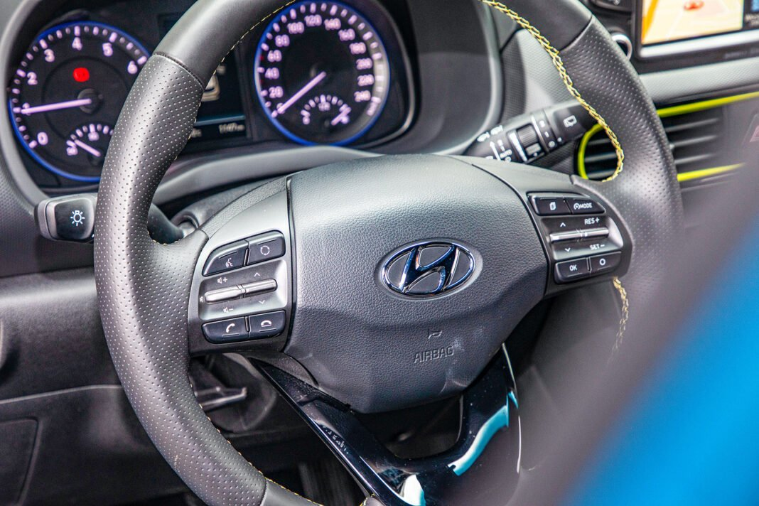 Hyundai Kona - kierownica