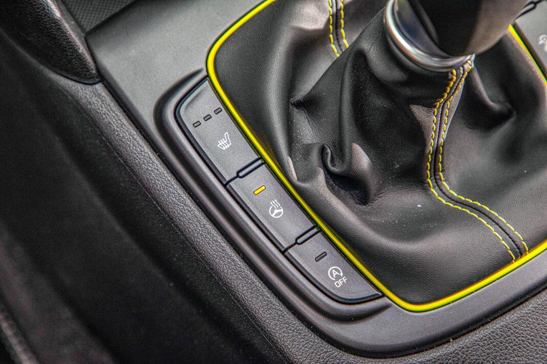 Hyundai Kona - podgrzewane fotele i kierownica