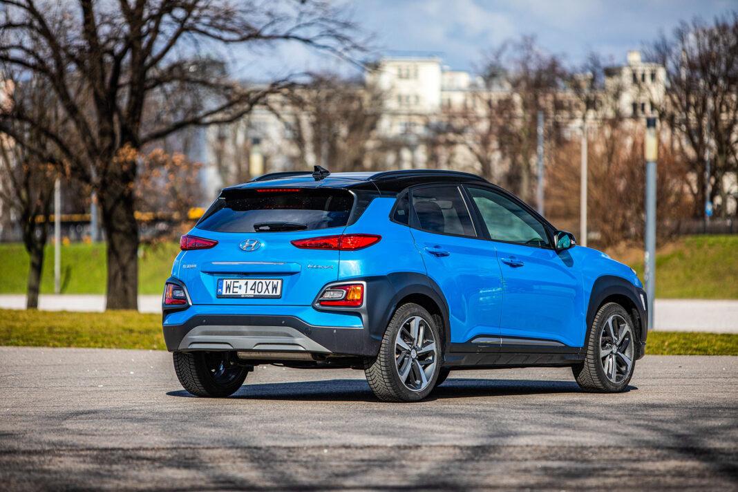 Hyundai Kona - prawy tył