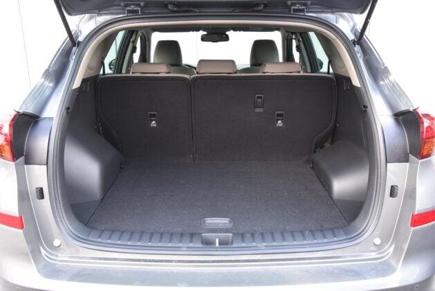 Hyundai Tucson - bagażnik