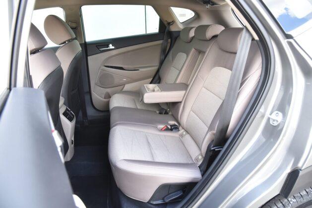 Hyundai Tucson - kanapa