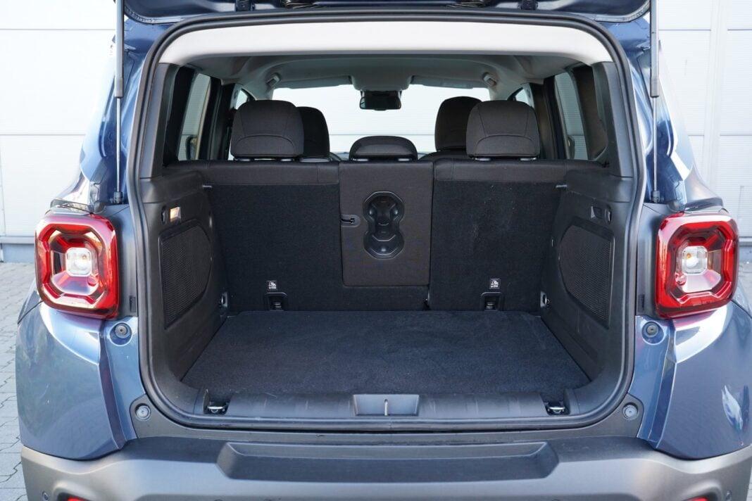Jeep Renegade 4x4 - bagażnik