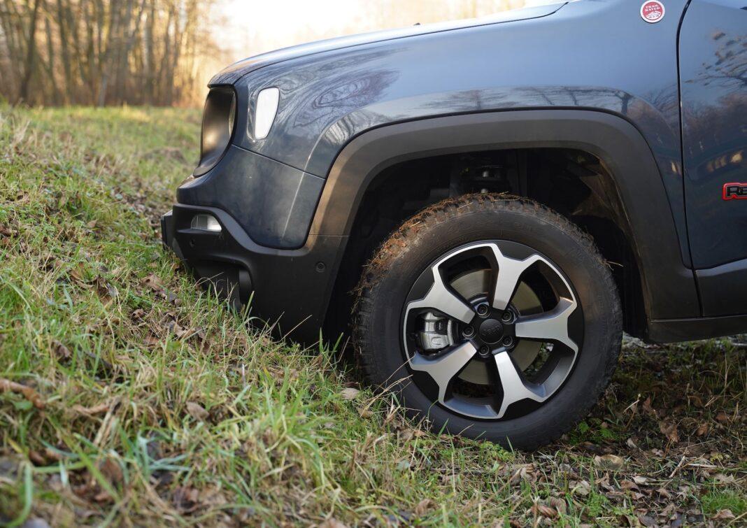 Jeep Renegade - kąt natarcia