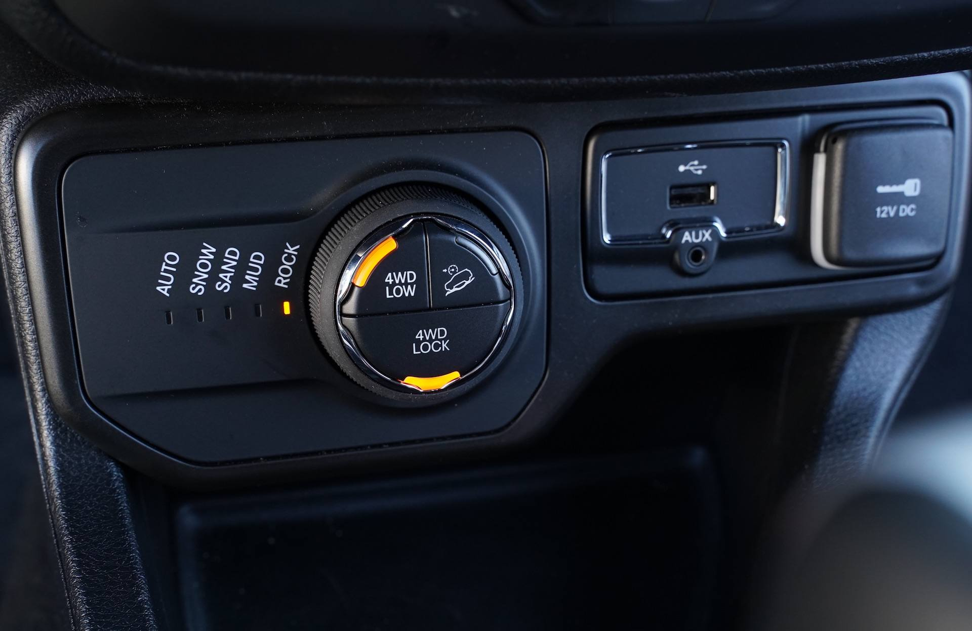 Jeep Renegade - tryby jazdy