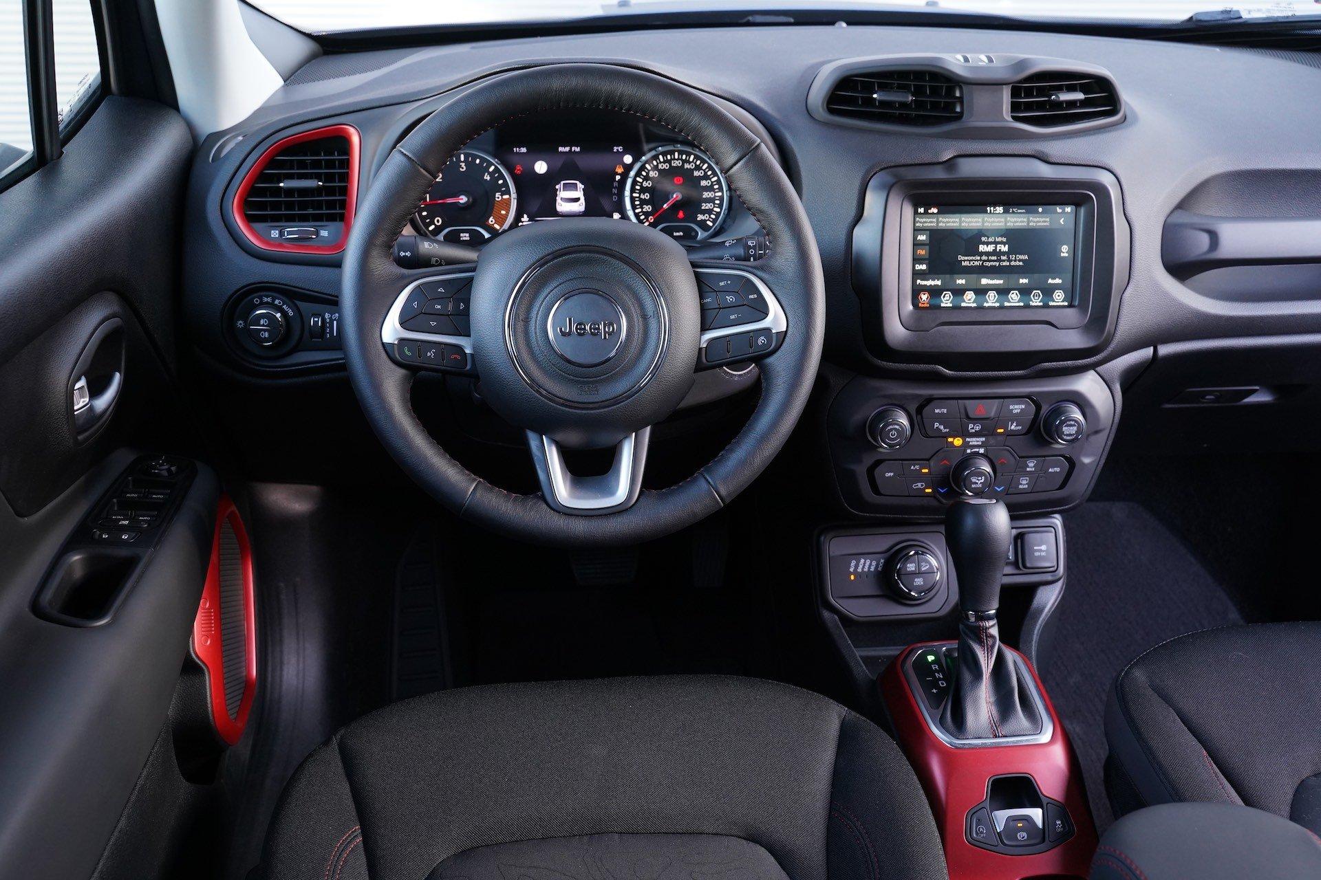 Jeep Renegade - wnętrze