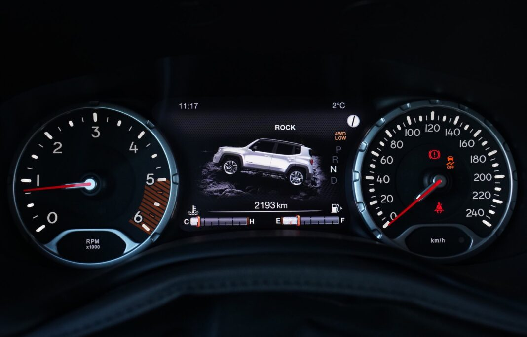 Jeep Renegade - wskazniki