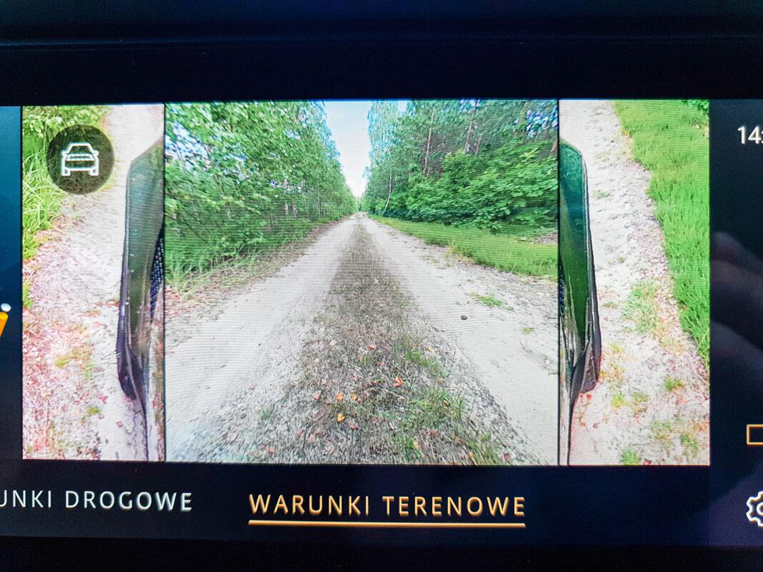 Land Rover Defender - kamery