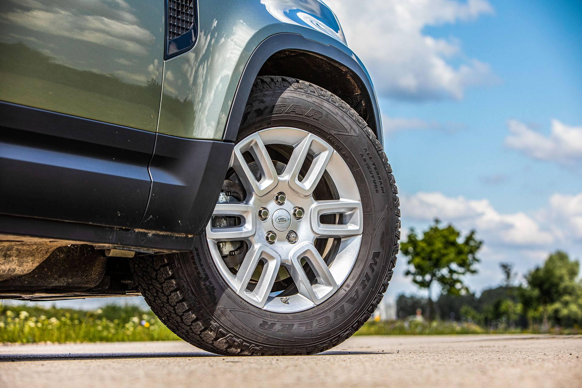 Land Rover Defender - koło