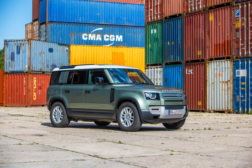 Land Rover Defender - prawy przód