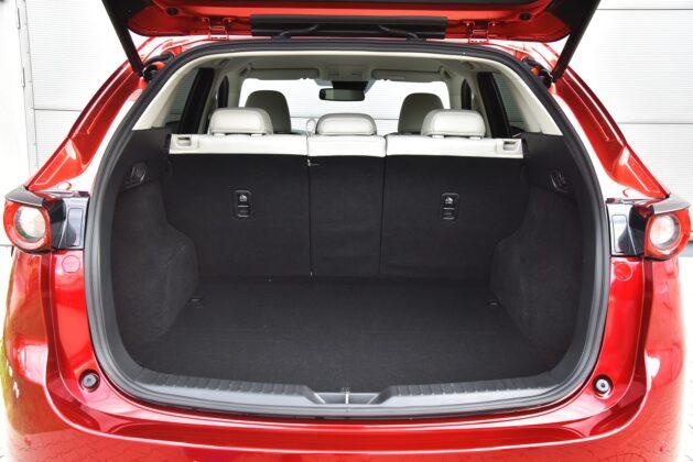 Mazda CX-5 - bagażnik