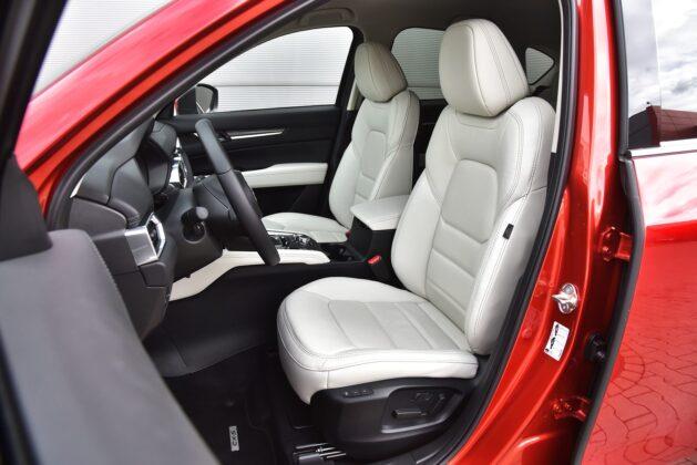 Mazda CX-5 - fotele
