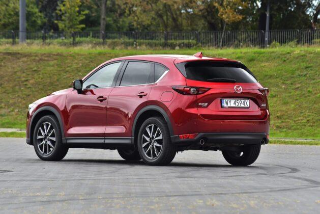 Mazda CX-5 - tył