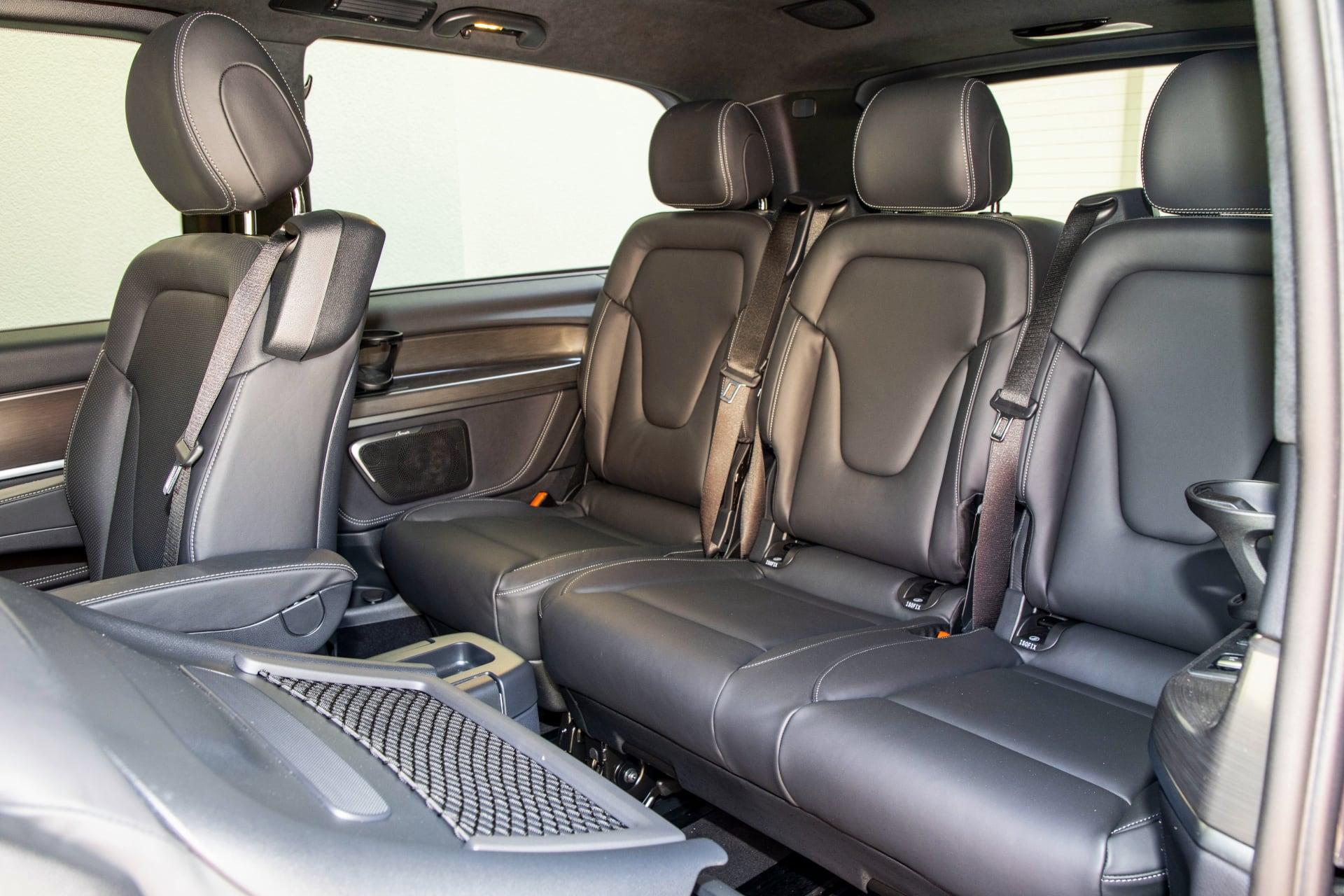 3. rząd foteli –Mercedes klasy V
