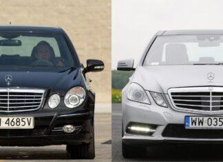 Używany Mercedes klasy E (W211) i Mercedes klasy E (W212) - którego wybrać?