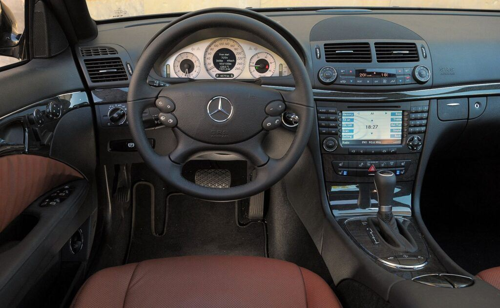 Mercedes klasy E W211 W212 04