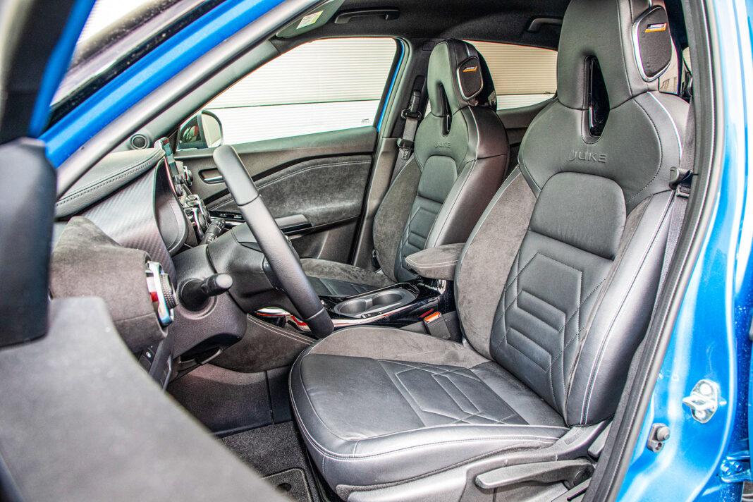 Nissan Juke - fotele
