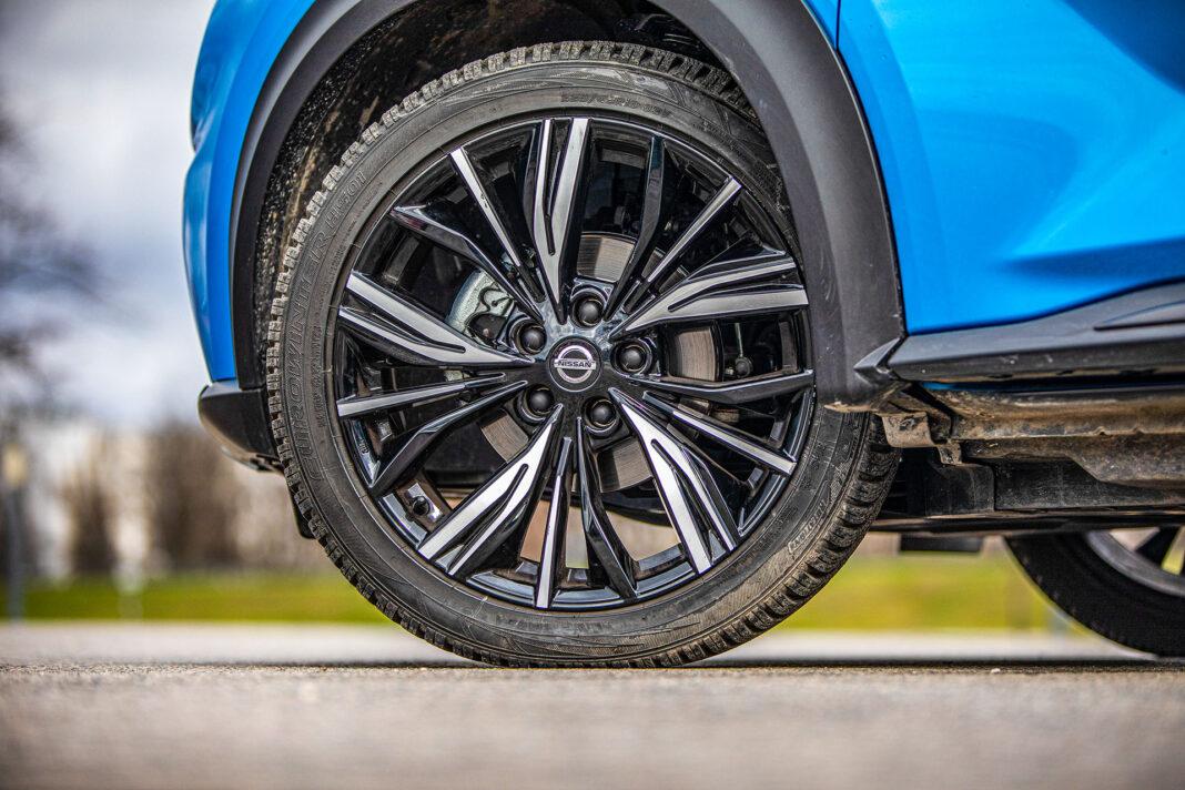 Nissan Juke - koło