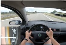 Octavia 1.9 TDI prędkość maksymalna