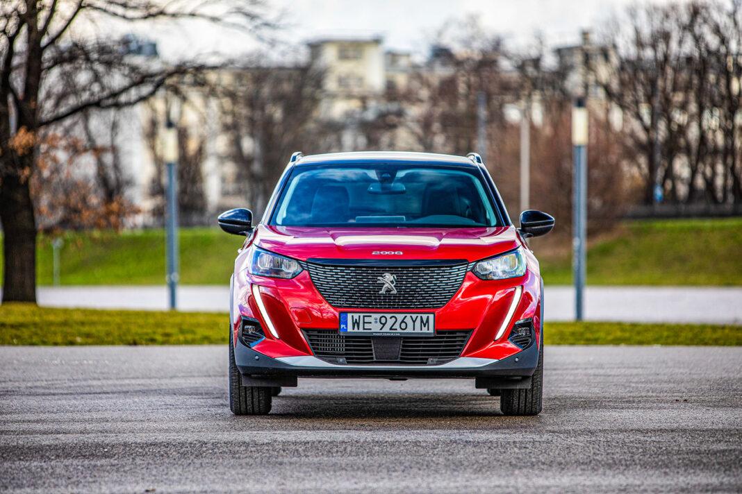 Peugeot 2008 - przód